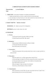 High School Science Lesson Plan Template Best S Of Math Unit ...