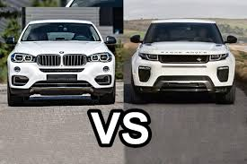2016 Range Rover Evoque Vs 2016 BMW X6 - DESIGN - YouTube