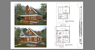 Bachman & Associates / Architects & Builders - Cabin Plans Part 6