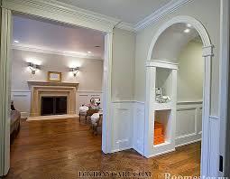 decorative arches in the interior