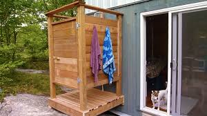 Outdoor Shower How To Build An Outdoor Shower