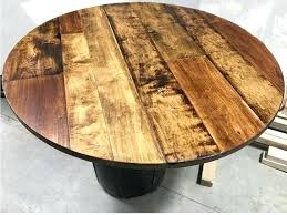 round table tops wood round wood table top home depot round wood table tops 60