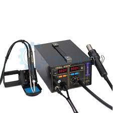 Купить компрессорную <b>паяльную станцию YIHUA 968DB+</b> с ...