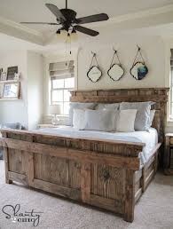 17 gorgeous farmhouse projects refresh restyle diy wood bed