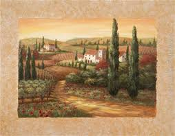 vivian flasch tuscan sunset ii