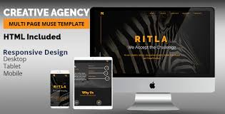 Muse Website Templates Cool RITLA Creative Agency Muse Template By Kproject ThemeForest