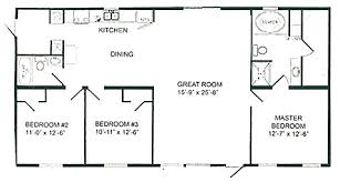 Double Wide Mobile Home Floor Plans   Double Wide Home Cairo NYDouble Wide Homes
