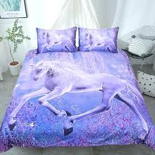 unicorn bedding details about purple unicorn bedding set printed quilt cover with pillowcases fl scenic unicorn
