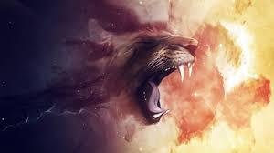 creative lion wallpaper