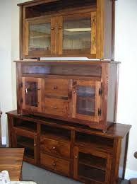 tv wall unit wood tv cabinets pine rustic hdtv centres with glass doors