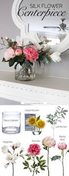 DIY Centerpieces with Faux Flowers
