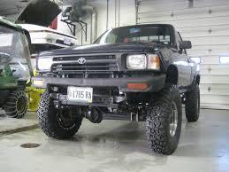 92' Toyota pickup/2wd/straight axle conversion/rust free ...
