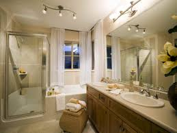 traditional bathroom lighting ideas white free standin. Bathroom Beautiful Traditional Ideas Bathrooms With Crystal Lighting White Free Standin Small Sliding Curtain Within Rectangular N