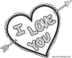 Love is everywhere because we cannot live without it. I Love You Valentines Coloring Pages Printable