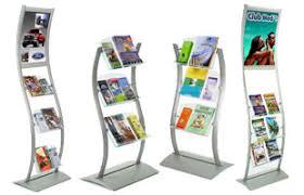 Flyer Display Stands Brochure Racks Flyer Holder Stands Floor Countertop 18