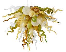viz glass mini high sierra chandelier