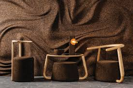 cork furniture. The DIGITALAB Duo Created Seating, Tables, Lighting, And Wall Surfaces That Will Transform Your Idea Of What Can Be Done With Cork. Furniture Merges Cork O