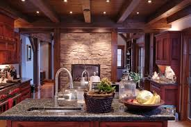 cherrywood kitchen designs. a french country kitchen with charcoal gray granite countertops and rich wood cabinets dual. cherry cherrywood designs e