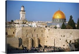 israel jerusalem western wall and the dome of the rock on framed western wall art with israel jerusalem western wall and the dome of the rock wall art
