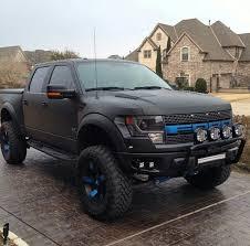 ford raptor blacked out. the only kind of ford truck i like raptor nice black srt blacked out j