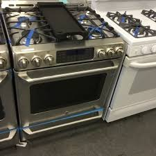 gas stove slide in