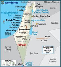 israel map geography of israel map of israel worldatlas com Israel In The World Map map of israel israel world map
