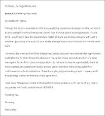 Resignation Letter Format For New Job Job Resignation Letter ...