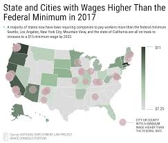 15 Minimum Wage 17 Of U S Will Reach It By 2020 Fortune