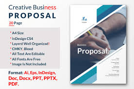 Professional Business Proposals Write A Professional Business Proposal For You Business