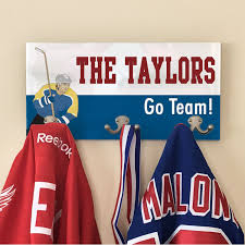 Personalized Family Coat Rack Personalized Hockey Family Coat Hanger Personalized Hockey Gifts 86