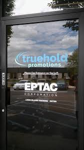 your logo on your glass door is an inexpensive way to build your business