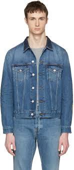 acne studios indigo denim who jacket men acne studios ace carter stylish