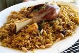 al kabsa   traditional saudi rice    meat  dish