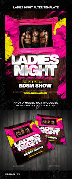 Club Flyer Maker Ladies Night Flyer Ladies Night Flyer Template And Flyer Size 2