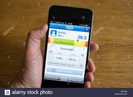 Body Measuring App Smartphone App Für Die Messung Von Bmi Body Mass Index Um