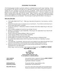 examples of resumes email cover letter layout format inside  87 astonishing basic resume outline examples of resumes