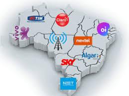 Resultado de imagem para Algar, Claro/Net, Nextel, Oi, Sercomtel, Sky, TIM e Vivo.