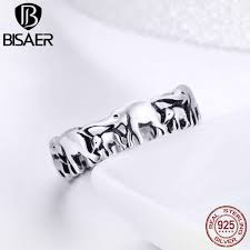 BISAER NEW Rings 925 Sterling <b>Silver Vintage Red</b> Berry <b>Fruit</b> ...