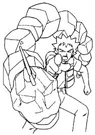 Brock E Onix Disegno Dei Pokemon Da Colorare Disegni Da Colorare E