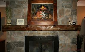 rustic hand carved wood beam matel rustic mantel