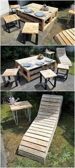 wood pallet lawn furniture. Repurposed Wood Pallet Outdoor Furniture Lawn