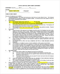 Dear candidate_name, our hiring team was excited to meet and get to know you over the past few [e.g. Free 8 Sample Casual Employment Agreement Templates In Pdf Ms Word