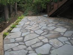 stone patio installation: irregular bluestone patio installation lexington ma