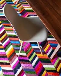 multicolored chevron rug kyle bunting luxury hide rugs kyle bunting