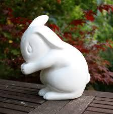 homewares lights lanterns delight decor stunning fine bone china rabbit bunny bedroom night light lamp earthenware white rabbit england