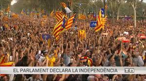 Resultat d'imatges de proclamació de la republica catalana  2017