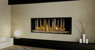 contemporary gas fireplace unique fireplaces