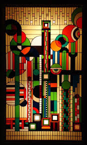 Authentic Art Nouveau Stained Glass Designs In Full Color Art Deco Stained Glass By Frank Lloyd Wright Glass Art