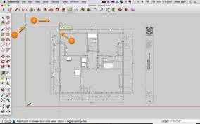 sketchup tutorial draw plan from pdf 07