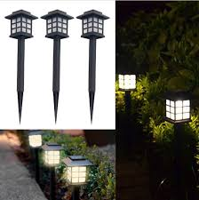 waterproof led solar light outdoor lighting lamp street garden lights